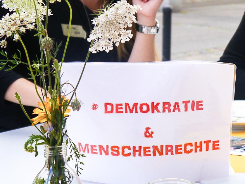 Das Ressort Demokratie & Menschenrechte