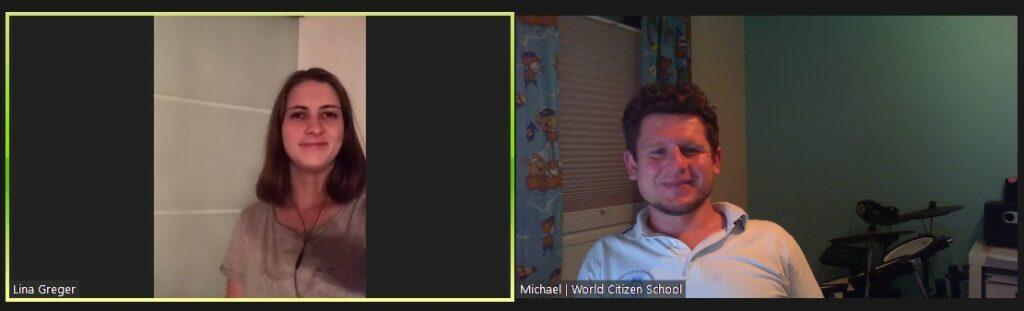 Lina und Michael bilden aktuell das Social Research Team.