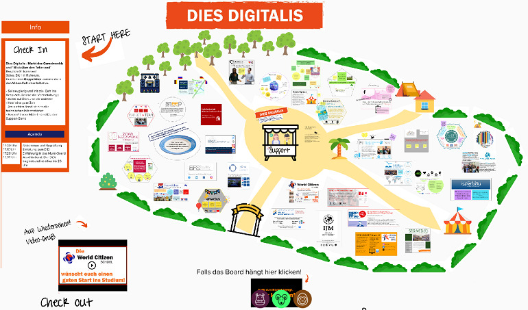 Aus Dies Universitatis wird DIES DIGITALIS