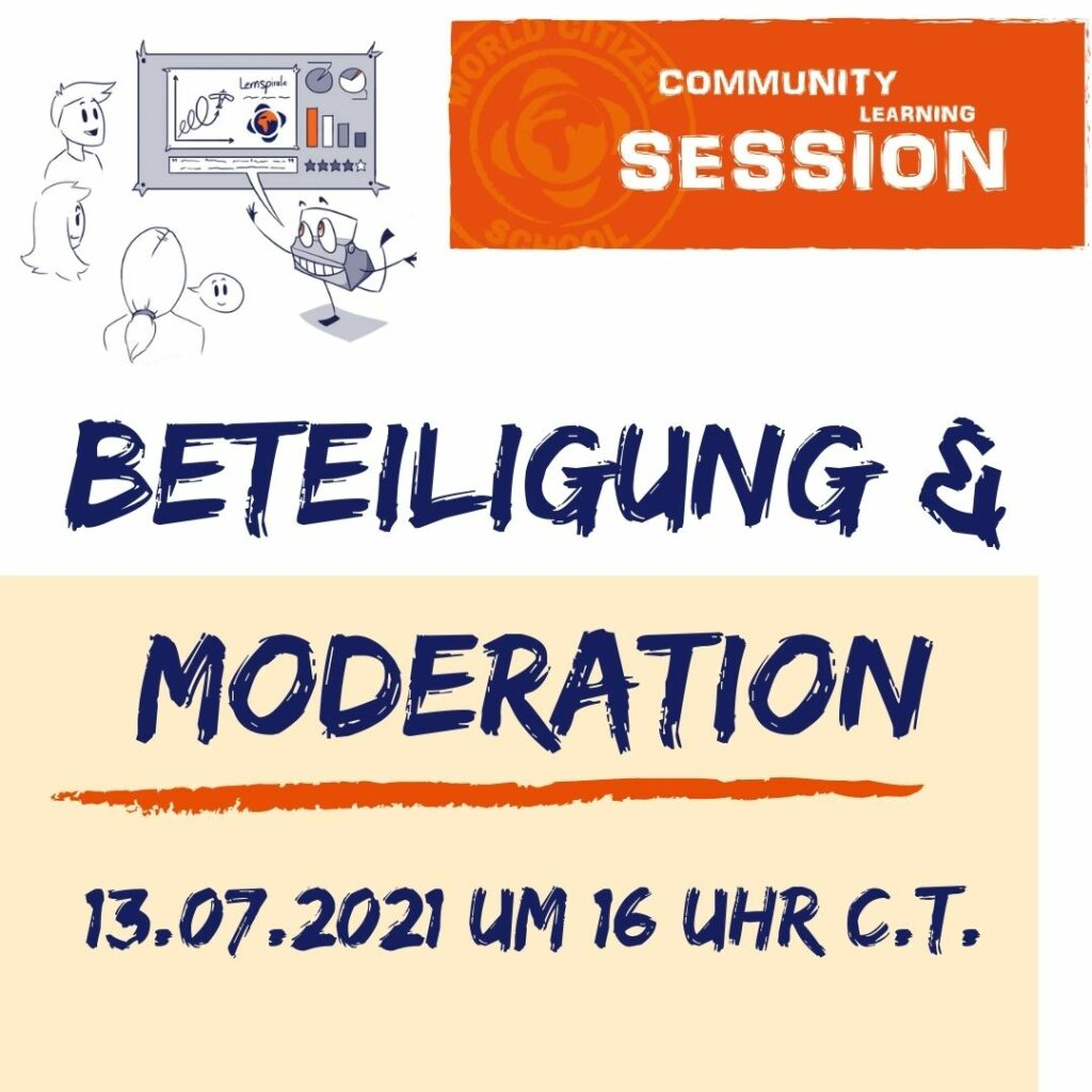 Community Learning Session #26: Beteiligung & Moderation